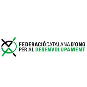 Logo Federació Catalana d´ong per al desenvolupament