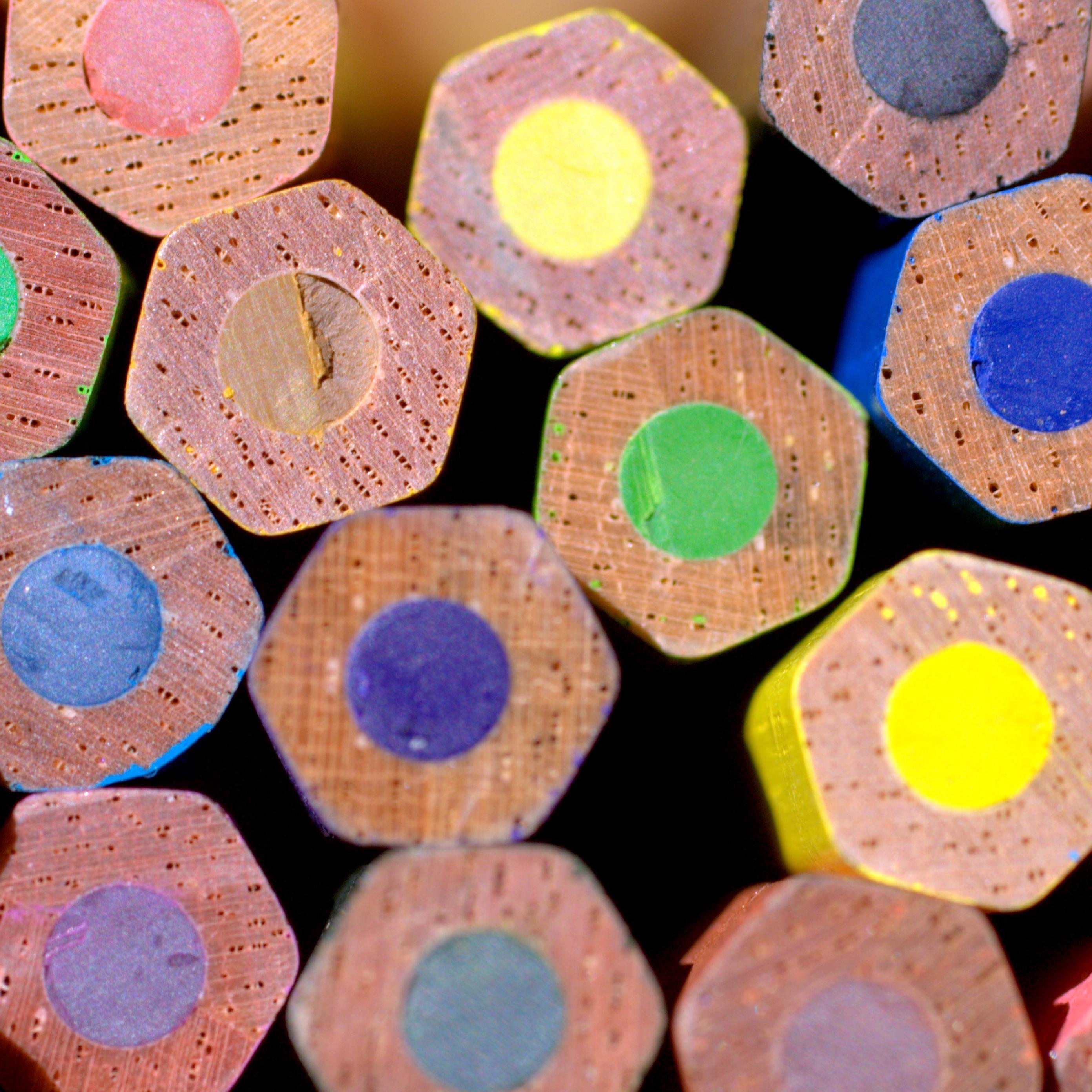 Imagen lápices de colores