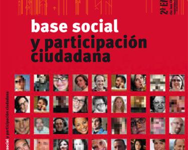 Base social y participación ciudadana