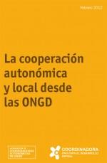 La Cooperación autonómica y local desde las ONGD