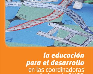 La Educación para el desarrollo en las coordinadoras de ONGD