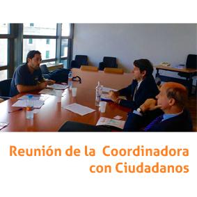 reunión de coordinadora con Ciudadanos