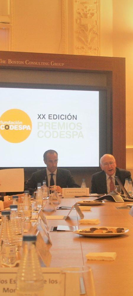 Miembros Jurado XX Premios CODESPA