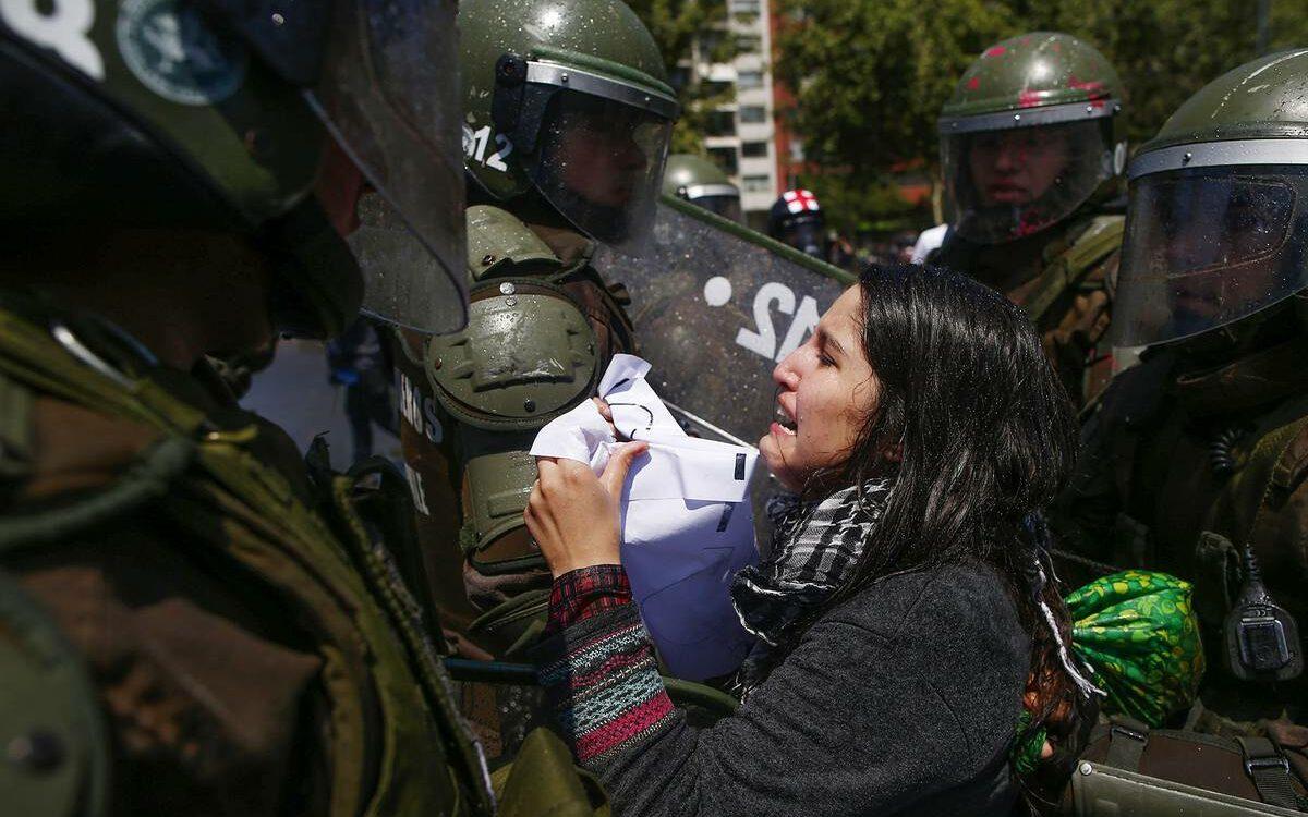 Chile: ¡no estamos en guerra! - Coordinadora de Organizaciones para el Desarrollo