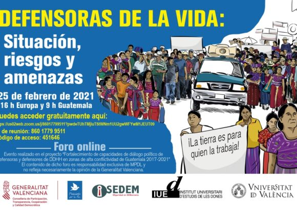 Foro virtual Defensoras de la Vida