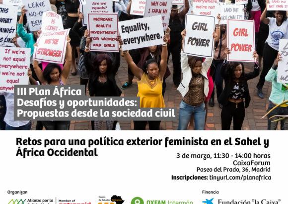 Cartel jornada África feminista