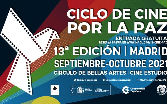 Regresa el Ciclo de Cine por la Paz a Madrid